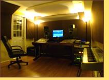 Mix Engineer Chris Carter's Control Room