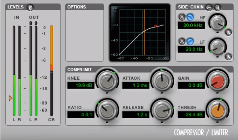 Specified Delays (Chorus compressor)