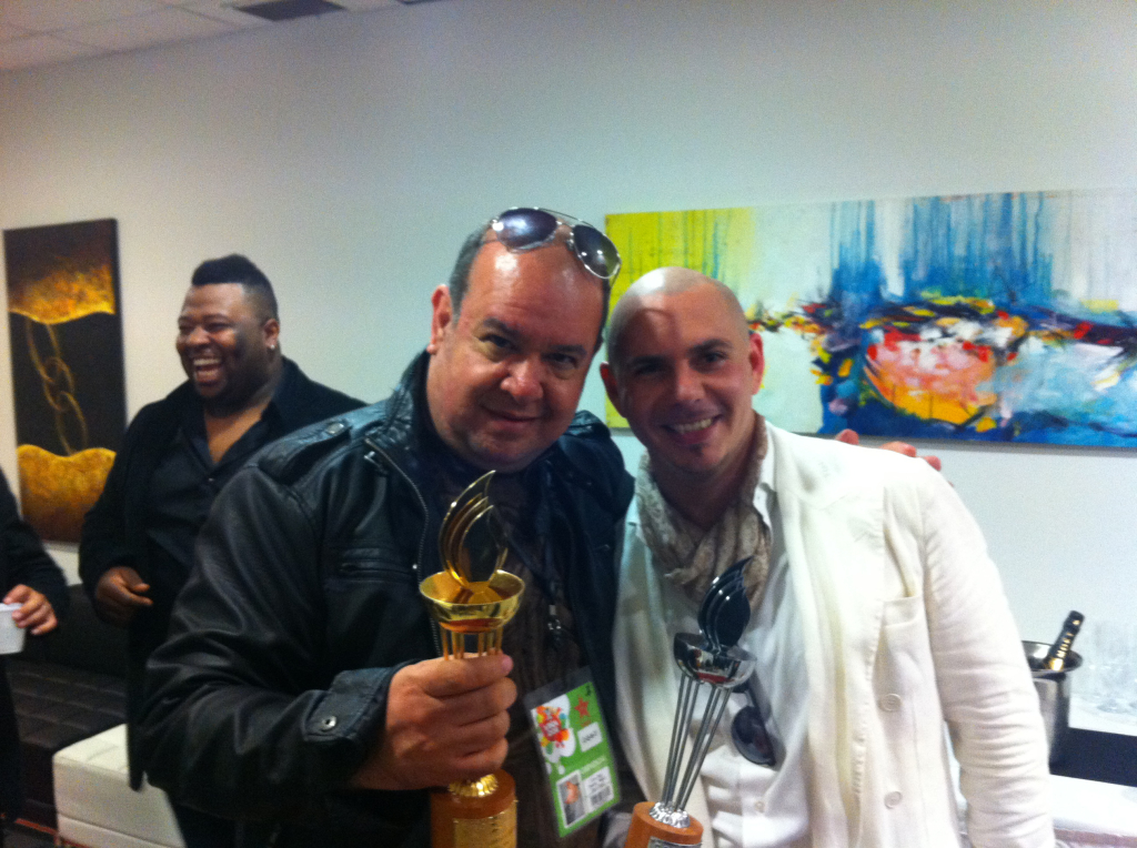 Lu Diaz Pitbull Chile 2011