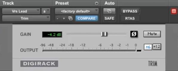 Gee Mixing Vocals - Avid Trim
