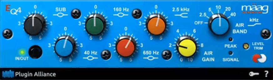 Gee Mixing Vocals - Maag EQ4