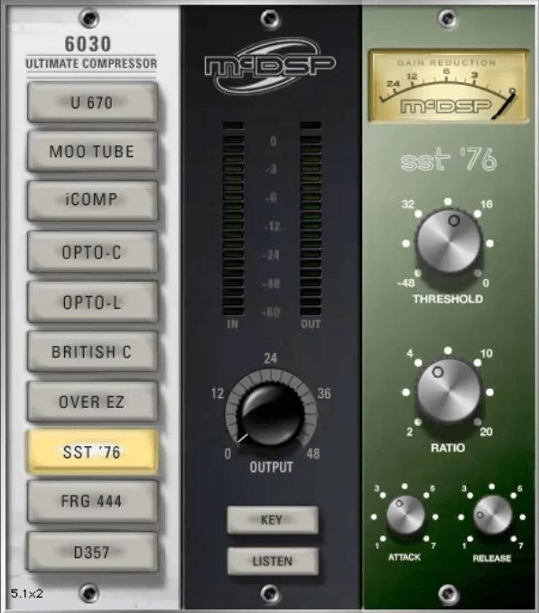 Gee Mixing Vocals - McDSP 76