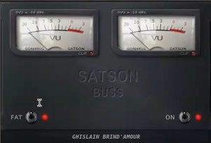 Gee Mixing Vocals - Satson