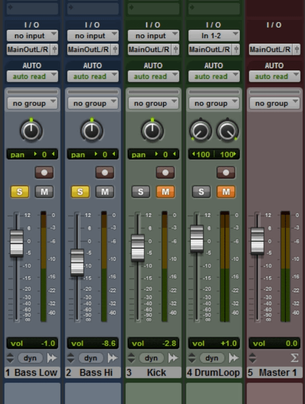 Starting Point - Pro Tools