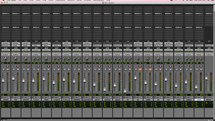 Unorganized Mix Session