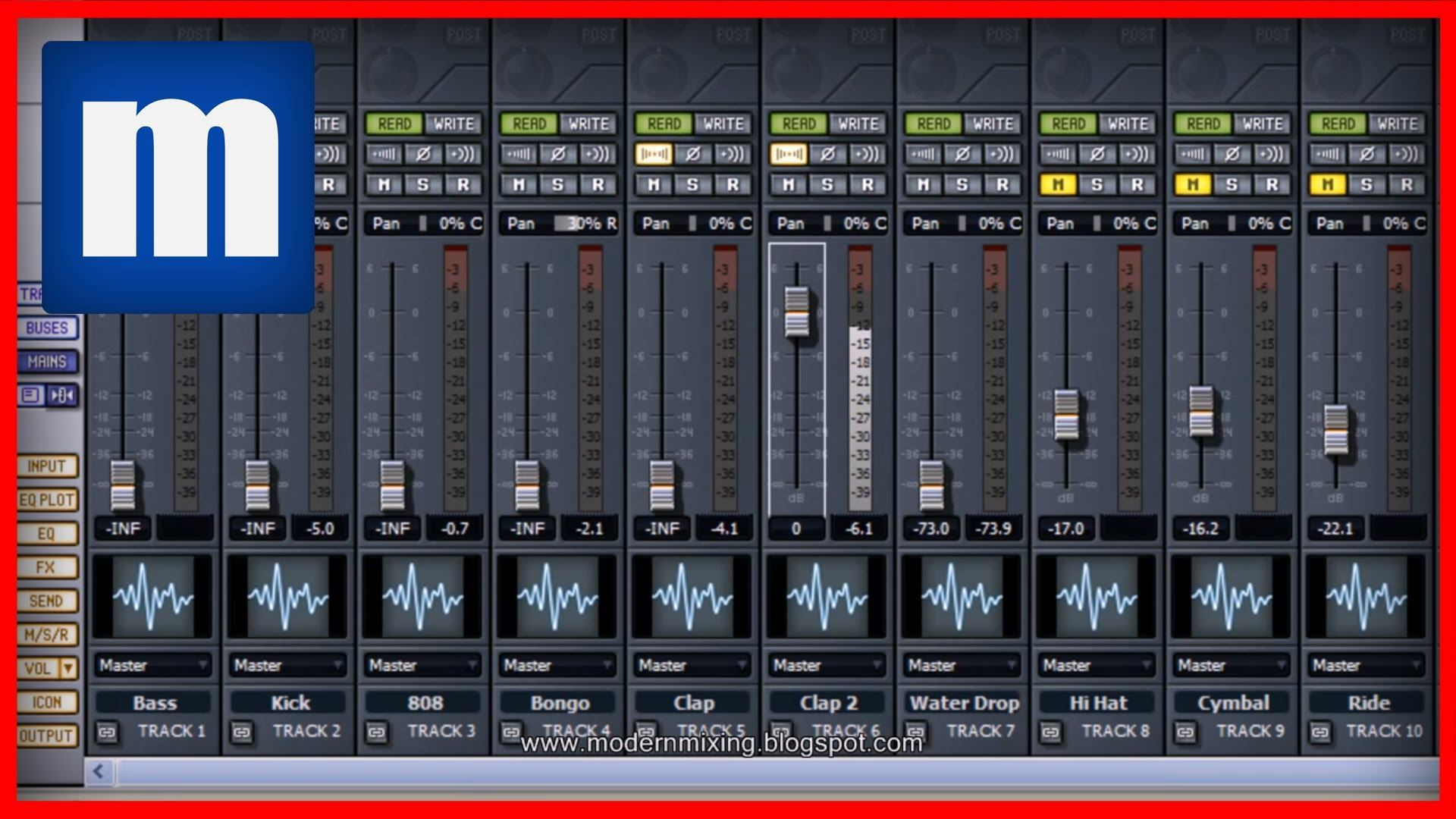 Gain Staging - ModernMixing com