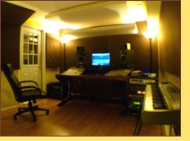 Mix Engineer Chris Carter's Control Room