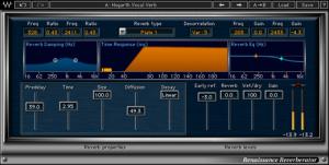 Waves RVerb - Plugin Presets