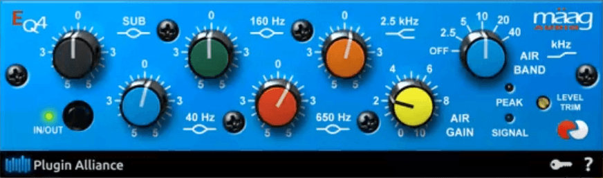 Gee Mixing Vocals - Maag EQ4