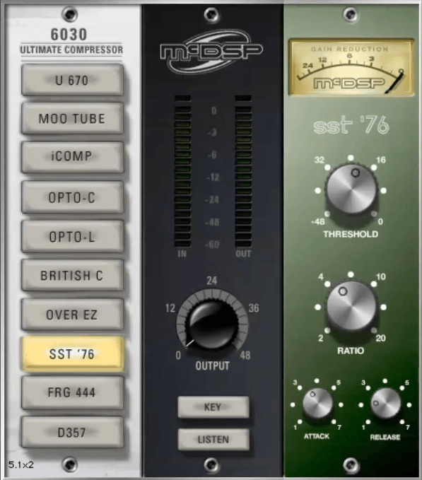 Gee Mixing Vocals - McDSP 76