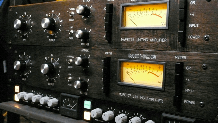 Audio Mixing Compressor