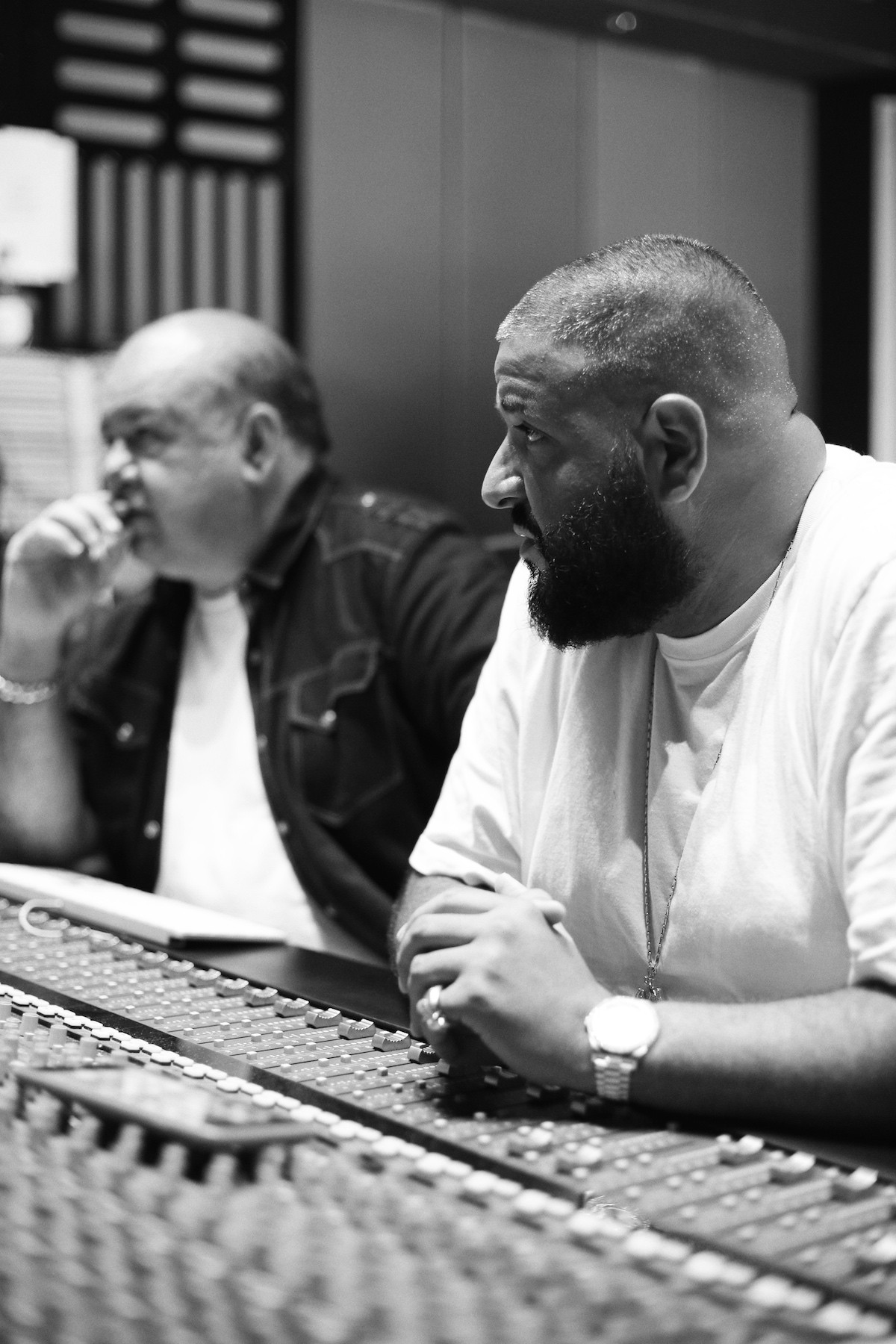 Lu Diaz and DJ Khaled Mixing Major Key