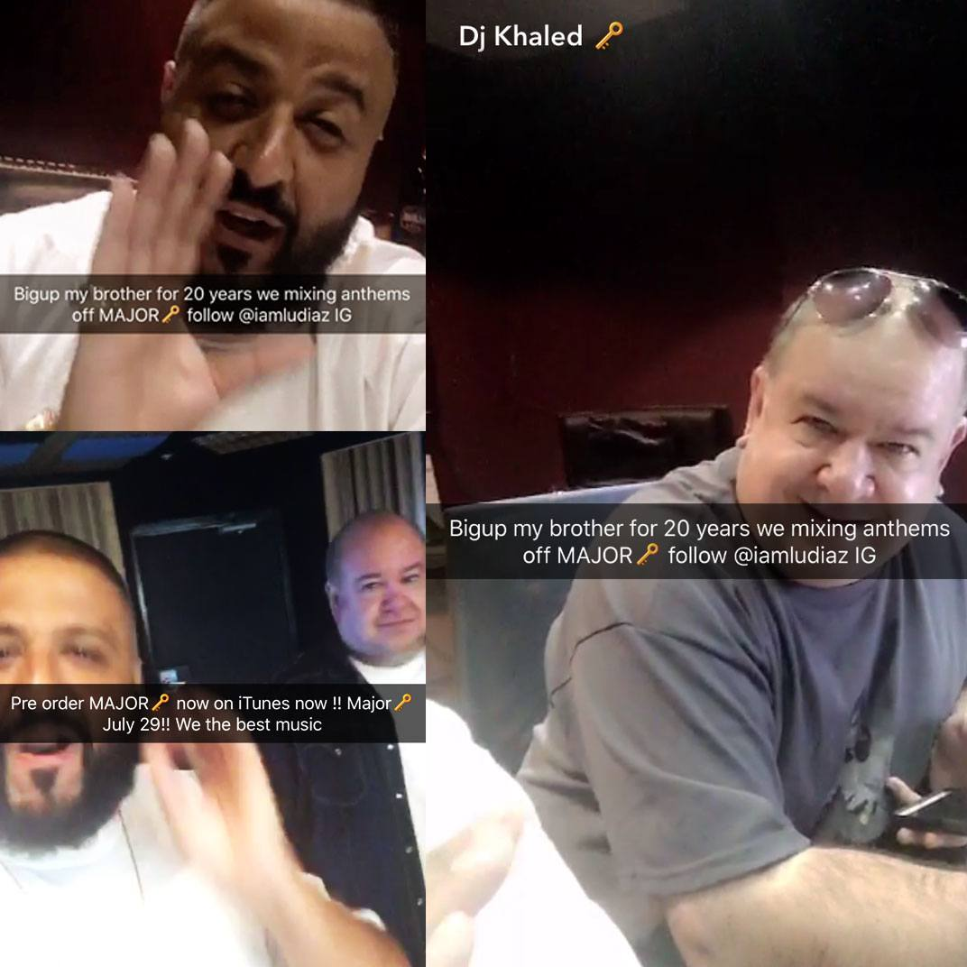 DJ Khaled Snap Chats