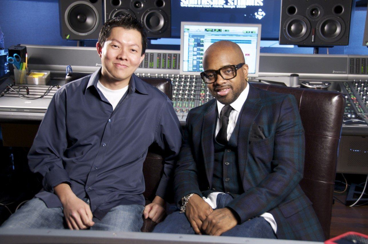 Jermaine Dupri and Phil Tan