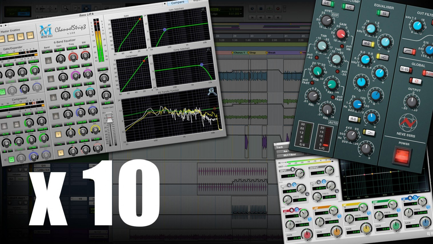 10 Pro Mixing Engineers Discuss Their Favourite In-The-Box Equalizers