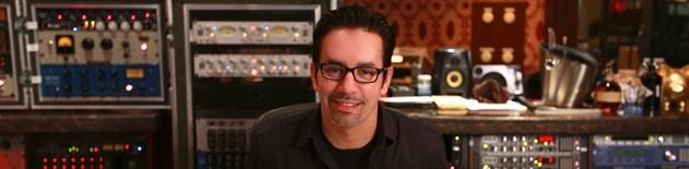 Manny Marroquin at Larrabee Studios (photo courtesy of AEFPR)